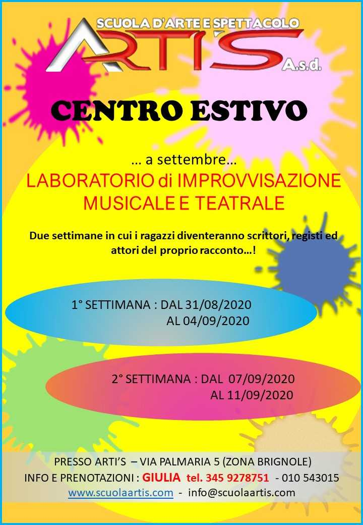 Artis LATO1_PALM CENTRO ESTIVO MUSICALE