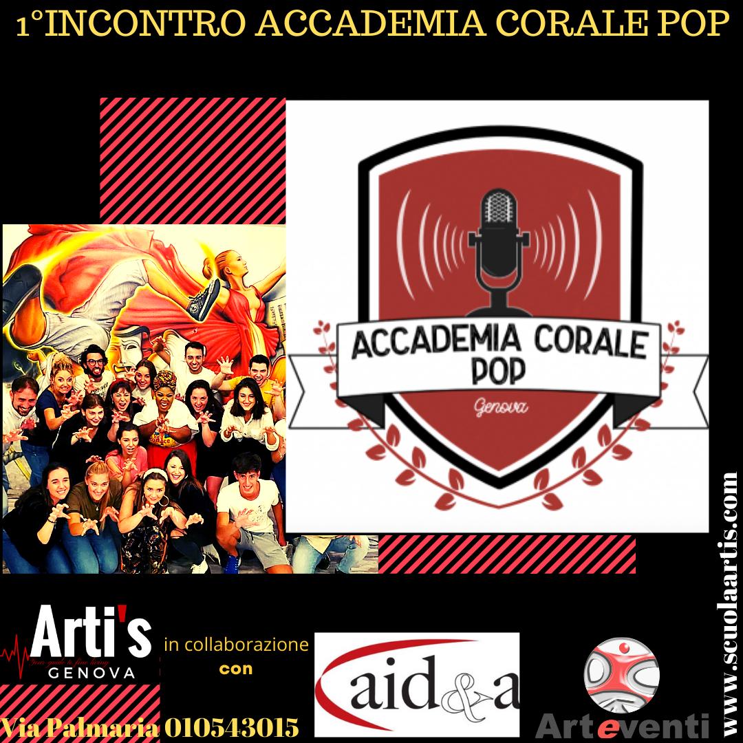 Artis accademia-corale-pop Orai, News, Eventi, Stage